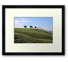 Roundway Down - George Orwell 1984 Framed Print