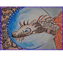 Dragon Night Photographic Print