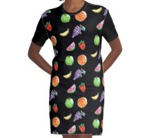 Fruity fun for everyone! Graphic T-Shirt Dress