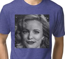Rachel McAdams from space Tri-blend T-Shirt