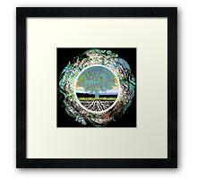 Tree of Life Circle of Life Framed Print
