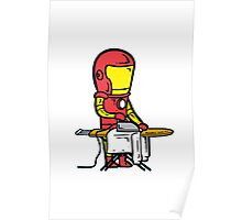 Iron Man Funny Poster