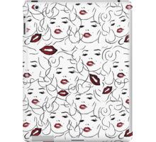Kisses from Marilyn  iPad Case/Skin