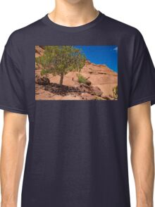 USA. Arizona. Canyon de Chelly National Monument. Lonely Tree. Classic T-Shirt