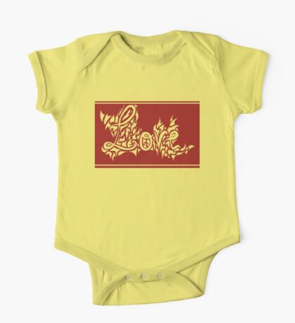 Abstract love Kids Clothes