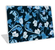 Alstroemeria, Bluebell and Camellia Japonica Laptop Skin