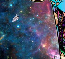 Intergalactic Giraffe Sticker