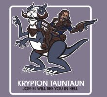 Krypton Tauntaun by PlasticBlast