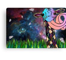 Intergalactic Giraffe Canvas Print