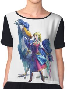 The Legend of Zelda Chiffon Top