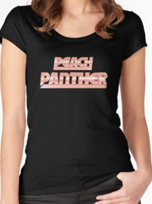 RIFF RAFF PEACH PANTHER Women's Fitted Scoop T-Shirt