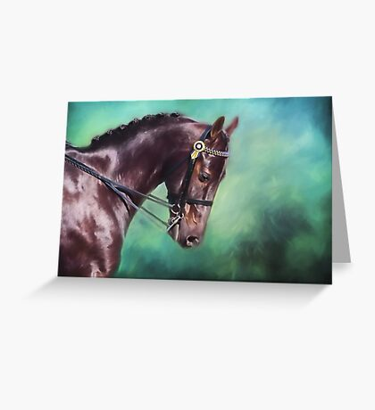 Dressage Dreams Greeting Card