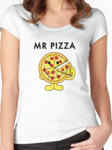 Mr Pizza Women's Fitted Scoop T-Shirt