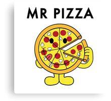 Mr Pizza Canvas Print