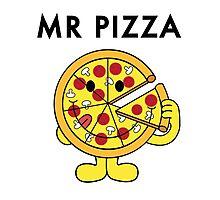 Mr Pizza Photographic Print