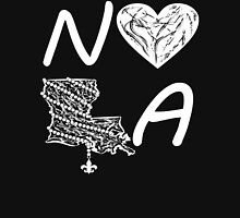 I heart NOLA (White) Women's Tank Top