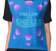 Follow the Shells – Purple are my favourite! Chiffon Top