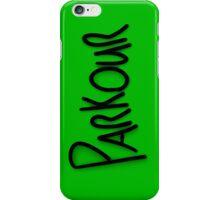 Parkour phone case #2 iPhone Case/Skin