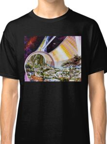Space Colony Sci Fi Classic T-Shirt