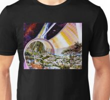 Space Colony Sci Fi Unisex T-Shirt