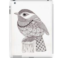 Tangled Little Flycatcher iPad Case/Skin