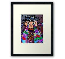 Wise Man of Music Framed Print