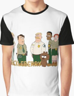 Brickleberry - the gang Graphic T-Shirt