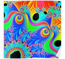 Psychedelic Pinwheel 1 Poster