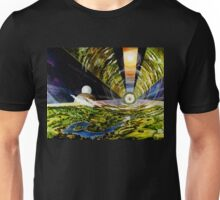 Space Colony, Cylinder Unisex T-Shirt