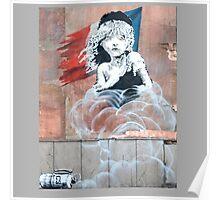 Banksy Les Miserables - Jungle Camp Calais Poster