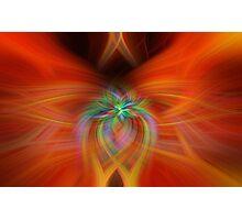 Swirly Twirls Photographic Print