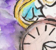 Alice in the Vortex of Time Sticker