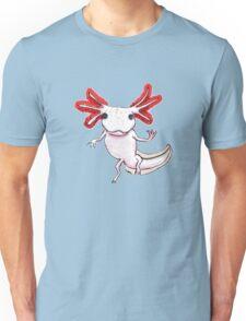 Axolotl Floating Unisex T-Shirt
