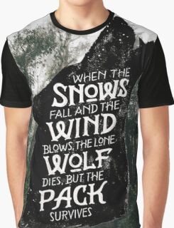A Game of Thrones Graphic T-Shirt