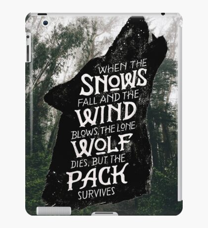 A Game of Thrones iPad Case/Skin
