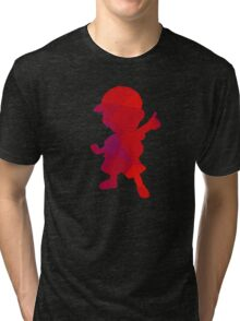 Ness - Fractal Tri-blend T-Shirt
