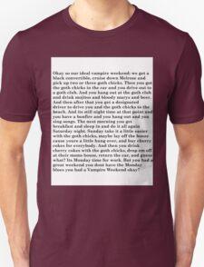 no monday blues for u  T-Shirt