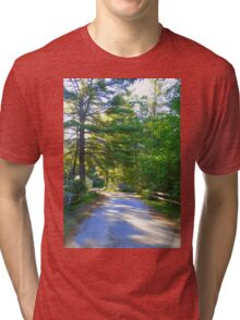 Country Road New Hampshire Tri-blend T-Shirt