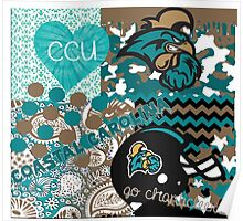 Coastal Carolina University Collage Poster