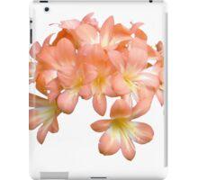 Peach Coloured Lilium Flowers iPad Case/Skin