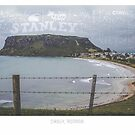 Stanley, Tasmania. Tourism Typography by Michelle Walker