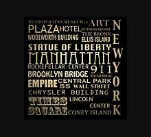 New York Famous Landmarks Unisex T-Shirt