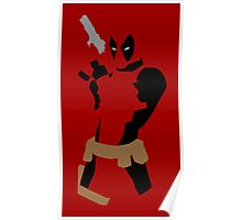 Deadpool Action Poster