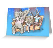 The Boring Party Greeting Card