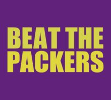 Minnesota Vikings - Beat the Packers - Gold by MOHAWK99