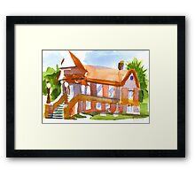 Church on Shepherd Street 4 Framed Print