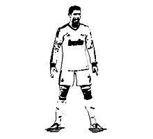 Ronaldo Stance Photographic Print