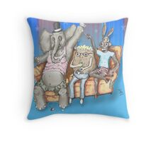 The Boring Party Throw Pillow