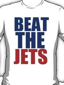 New England Patriots - BEAT THE JETS T-Shirt