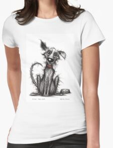 Fido the dog Womens Fitted T-Shirt